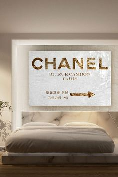 Oliver Gal Couture Road Sign Canvas Art on @HauteLook