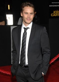 Taylor Kitsch... my choice for Christian Grey...