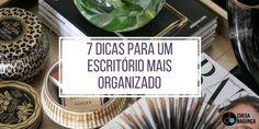 7 dicas para um escritório mais organizado :http://blogchegadebagunca.com.br/7-dicas-para-um-escritorio-mais-organizado/