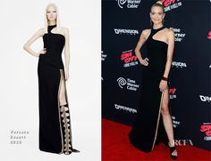 Jaime King In Versace – 'Sin City: A Dame To Kill For' LA Premiere