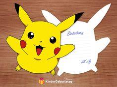 Best photo invitation design wedding funny pokemon crafting invitation cards: templates to print # Mermaid Invitations, Photo Invitations, Printable Invitations, Invitation Cards, Invitation Templates, Invitation Design, Pokemon Party, Pokemon Birthday, Diy Birthday