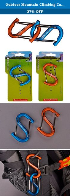 Outdoor Mountain Climbing Camping Aluminium Alloy Safety Multi-functional S Bottle Buckle Button Carabiner. Outdoor/Camping Type : Multi-functional S Bottle Buckle Button Carabiner. Material:Aluminum Alloy Inferior Smooth Oxidation Coloring. Color:Blue, Orange. Size:6cm. Pack: 1* Naturehike Mountain Climbing Multi-function Type Aluminum Alloy S Hang Bottle Buckle.