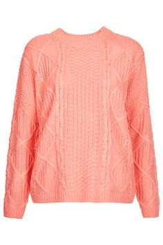 Knitted Angora Cable TopShop Jumper.  Love this just bought it!!! :))