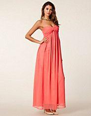 Dreamy Dress - NLY Trend - Koralli - Juhlamekot - Vaatteet - NELLY.COM
