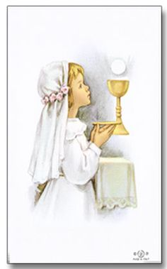 My little first communion prayer book, passing it on to my daughter this year