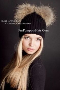 Bobble Beanie Pom Pom Hat Retro 5 Colours Winter Branded A/&G Mens Ladies