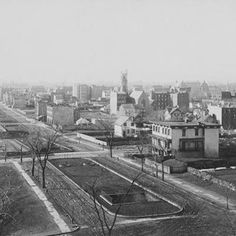 Upper East Side in the late 1800s