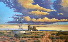 Willie Strydom - Karoo Scene x Landscape Paintings, Landscapes, Cape Town South Africa, Artsy Fartsy, Art Gallery, Scenery, Arts And Crafts, Nature, Prints