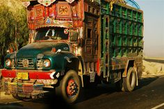 Typical Afghani Jingle Truck by Gator504, via Flickr