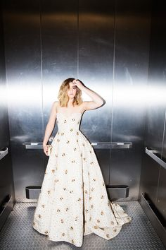 See Willow Shields's Exclusive Premiere Diary for The Hunger Games: Mockingjay—Part 2 - An Elevator Photoshoot - from InStyle.com