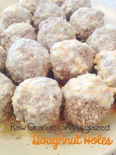 Raw-Orange-Ginger-glazed-Doughnut-Holes