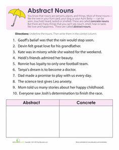 check out our new abstract noun worksheets super teacher worksheets general pinterest. Black Bedroom Furniture Sets. Home Design Ideas
