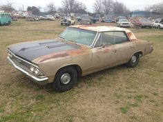 This 1966 Chevrolet Chevelle Malibu features a running, driving 454 and Muncie Barn Garage, Dream Garage, Chevrolet Chevelle, Chevy, Chevrolet Malibu, Classic Cars Online, Fast Cars, Old Cars, Trucks