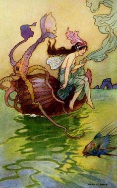 Warwick Goble illustration.