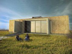 VIVIENDA DUAL : Casas minimalistas de Arquitecto Juan Nicolás Bobba