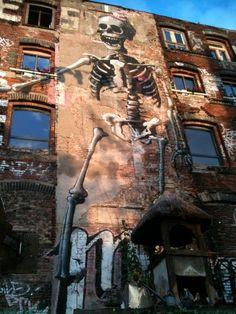 Arte de Rua - Berlim.