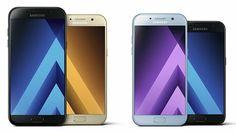 Samsung Galaxy A3 2017 & Galaxy A5 2017 bij www.deals-vergelijk.nl