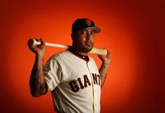 Hector Sanchez #29 of the San Francisco Giants poses for a portrait during spring training photo day at Scottsdale Stadium on February 27, 2015 in Scottsdale, Arizona. (February 26, 2015 - Source: Christian Petersen/Getty Images North America)