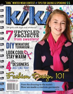 Kiki goes to Iceland for icy fashion! Dec/Jan 2014 #fashion #DIY www.kikimag.com