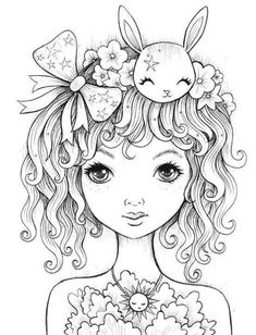 Jeremiah Ketner Make your world more colorful with free printable coloring pages from italks. Our free coloring pages for adults and kids. Coloring Pages For Girls, Colouring Pics, Doodle Coloring, Coloring Pages To Print, Coloring Book Pages, Printable Coloring Pages, Colorful Drawings, Colorful Pictures, Digi Stamps