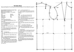 Sewing Basic PATTERN CUTTING Basic Bodice Block - From Practical Home Dressmaking Illustrated by Lynn Hillson Welcome to the first Tutorial of Pattern Month! Firstly, you will find it useful to know the four stages of Pattern development: The … Pattern Drafting Tutorials, Sewing Tutorials, Sewing Patterns, Blouse Patterns, Skirt Patterns, Dress Tutorials, Coat Patterns, Fashion Patterns, Clothes Patterns