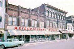 Ottawa Metropolitan store, across the street from Woolworth Capital Of Canada, Ol Days, Good Ol, Ottawa, Niagara Falls, Ontario, Vintage Photos, Street View, History