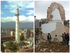 น่าห่วง!! แผ่นดินไหวใหญ่ในเนปาล ทำมรดกโลกเสียหายหนัก!! (ชมภาพ)   สำนักข่าวทีนิวส์