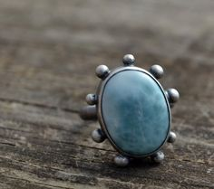 Hey, I found this really awesome Etsy listing at https://www.etsy.com/listing/225638647/clouds-ring-size-us-5-12-larimar-and