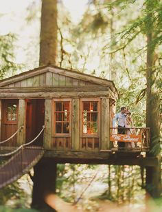25 Jaw Dropping Spots That Will Make You Want to Elope | Treehouse elopement