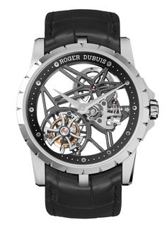 Roger Dubuis Excalibur 42 Skeleton #Watch