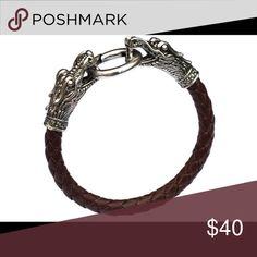 Men's Tibetan Vintage Fashion Bracelet Tibetan silver men bracelet titanium fashion male vintage accessories dragon bracelet men jewelry gentlemanshop Accessories Jewelry