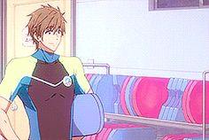 Mako and Hinata Free! Eternal Summer episode 8