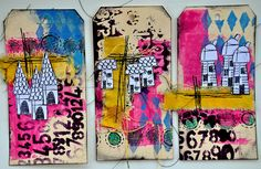 I love these tags from Dina Wakley