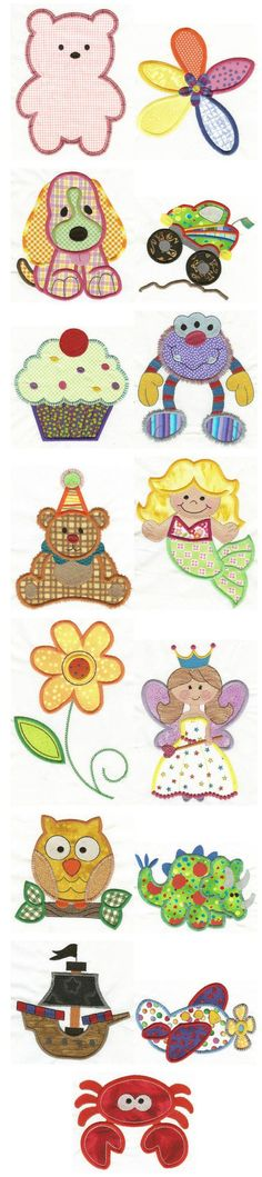 Embroidery | Free Machine Embroidery Designs | Jumbo Applique Sampler Set 3: