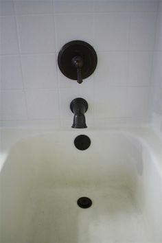 How To Remove An Old Bathtub Trim Kit And Replace With A New Oil Rubbed  Bronze Version.