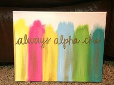 Alpha Chi Omega canvas                                                                                                                                                                                 More