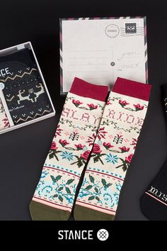 We've made a list and checked it twice--our Women's Holiday Box Sets are as easy to gift as they are to keep for yourself (we won't tell if you don't!). Spread some holiday cheer with premium socks from Stance.