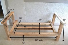 Make an outdoor pallet sofa that's comfy AND cute!