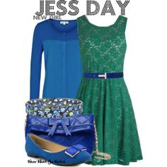 Inspired by Zooey Deschanel as Jessica Day on New Girl. I love this ♥