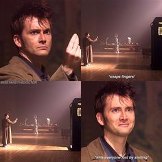 I loved this beautiful moment where he discovers that River's words actually work                                                                                                                                                                                 More