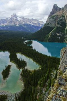 Yoho National Park. Photo by Feffef on Flickr.