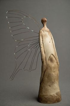 I love the mix of materials and treatment (solid and wire sculpture), and the form. Valerio Calonego