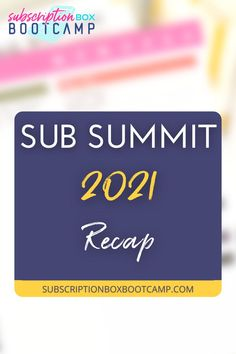 In this week's episode of Subscription Box Basics, we are going to have a little recap about Sub Summit 2021 held last September 21 to 23 in Dallas, Texas. Julie is joined by Renae Gonzalez to give us some highlights. Start a sub box, How to start a subscription box, Start a subscription box, Complete Business Plan, Business ideas, Sub summit, Business Plan Execution, Trendy Business Ideas, Small business ideas, Small business plan, Marketing plan! #business #planning #businessplan #subsummit