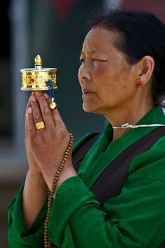 Prayer in Derge, Kham, Tibet