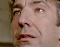 "1995 - Alan Rickman as P.L. O'Hara in ""An Awfully Big Adventure."" -- -- Dramatic eyes ..."