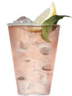 Pink Margarita 1 1/2 oz. tequila 1/4 oz. Campari 1/2 oz. fresh lemon juice 1/2 oz. honey Add all ingredients into a cocktail shaker with ice and shake vigorously. Pour into a tumbler. Serve on the rocks and garnish with a lemon slice and mint leaf.