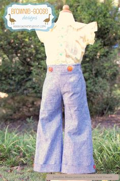 brownie-goose: patterns  Love these pants and the blouse by Violete Field Threads