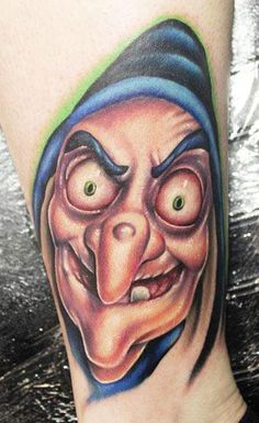 Cartoon Tattoo by Pa