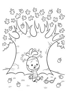Disegni da colorare per bambini. Colorare e stampa Chicken Little 2