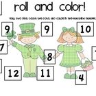 Roll and Color from Ms. Rachel's Room - Love these roll and color activities because they can be used with any targeted skill, articulation drills, or language cards.